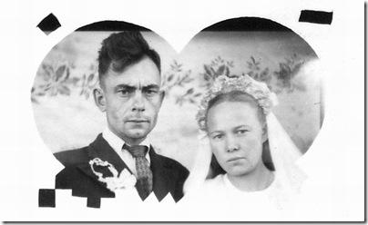 Венчание мама папа