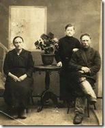 Шароглазовы Михаил, Татьяна с сыном