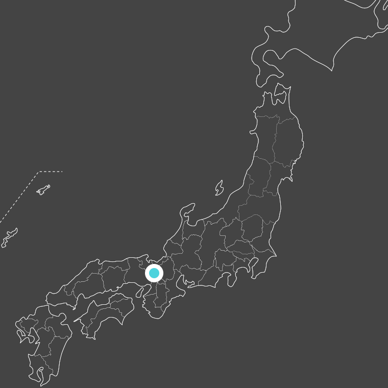 location of 京都府