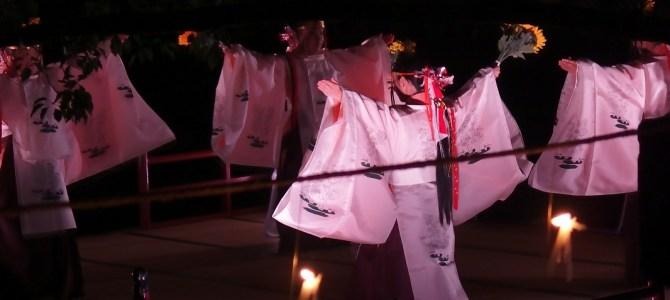 Sacred Ritual & Festival at Dazaifu-Tenmangu. Sentomyo & Kagura-Mai.