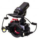 RGBlue System03 PREMIUM COLOR アールジーブルー システム03 プレミアムカラー 水中撮影LEDライト セット例2