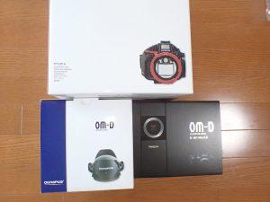 OLYMPUS OM-D E-M1MarkⅡ 防水プロテクターPT-EP14