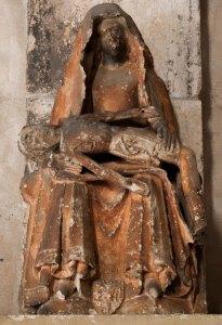 Pietà XIV ème siècle - Eglise de Floirac