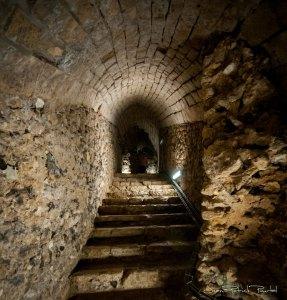 Souterrain - Cave mythique du château de Gisors