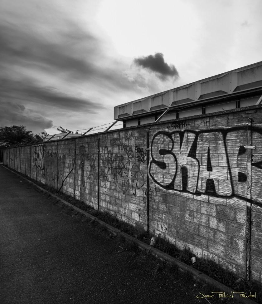 Un mur...