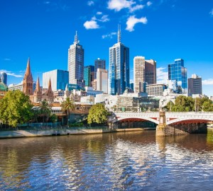 Australia Melbourne City View Ashutterstock 251154571