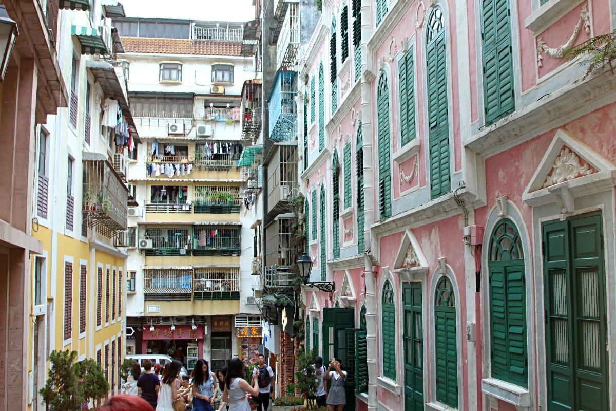 Macau Historic centre Travessa da