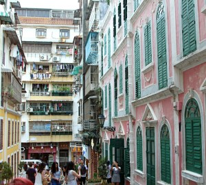 Macau Historic centre Travessa da