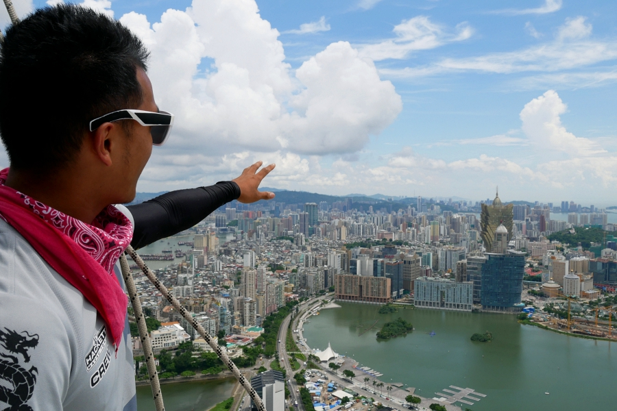 asia macau tower bungy jump experience report 11277 P1260151