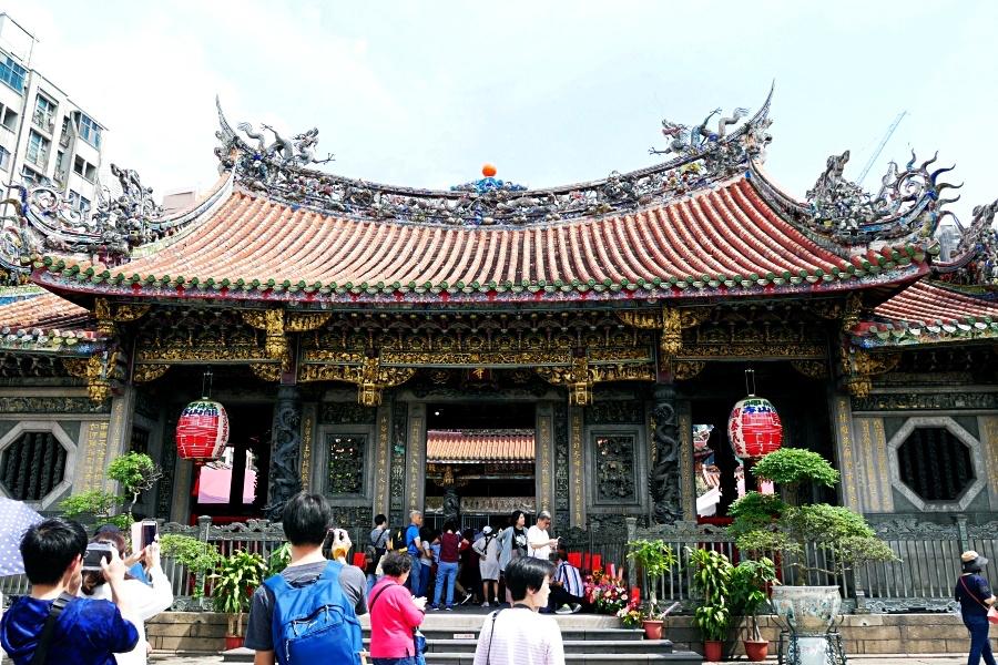 台湾・台北観光におすすめのパワースポット:龍山寺