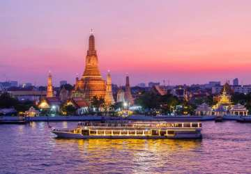 asia thailand bangkok night dinner cruise