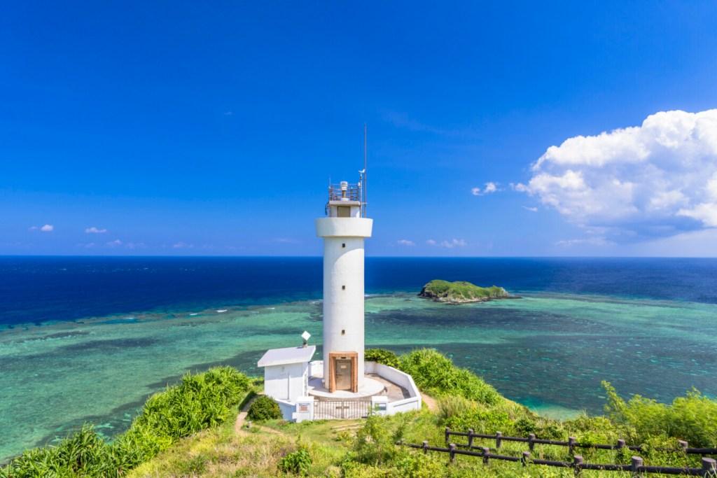 沖縄・石垣島の平久保崎灯台