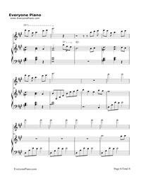 花兒落了-Flowers as Withering-林海無料の楽譜「五線譜,両手略譜」をダウンロード!