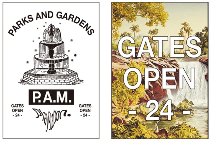 """P.A.M. によるポップアップストア """"PARKS AND GARDENS"""" @ THE PARK・ING GINZA"""