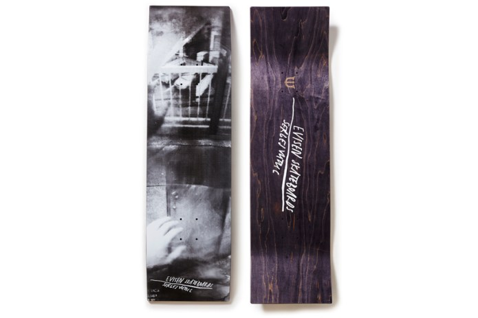 セルゲイ・ヴトゥックの個展にて Evisen Skateboards とのコラボデッキが発売