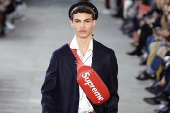 Picture of Supreme が登場する Louis Vuitton の2017年秋冬コレクション