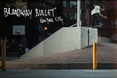 "adidas Skateboarding が新たなスケートクリップ ""Broadway Bullet"" を公開"