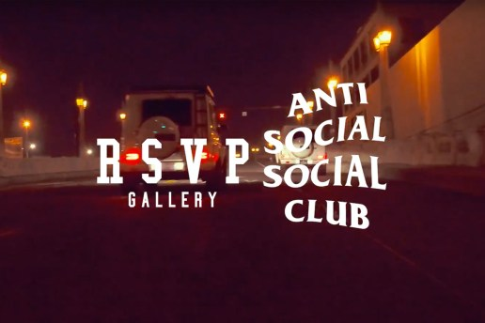 RSVP Gallery x Anti Social Social Club のコラボレーションを示唆するティーザービデオが公開に