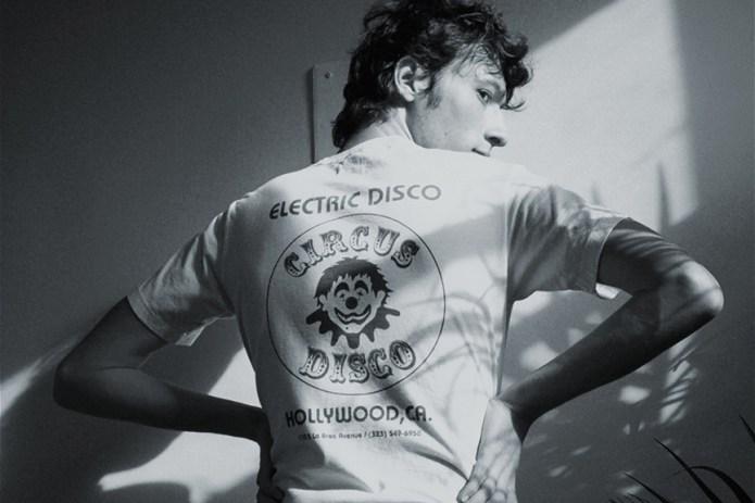 Bianca Chandon x Union Los Angeles のタッグより70年代のディスコカルチャーにトリビュートしたスペシャルTシャツが登場