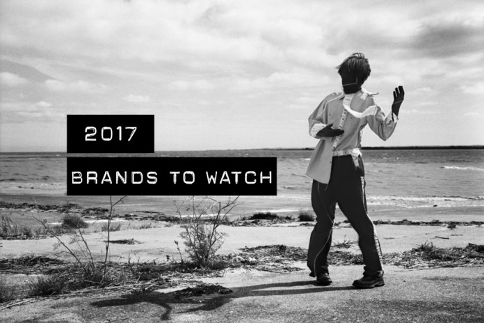 HYPEBEASTが2017年に注目する気鋭ブランド10選