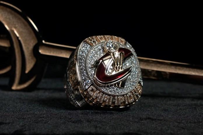 クリーブランド・キャバリアーズの NBA チャンピオンリングができるまで