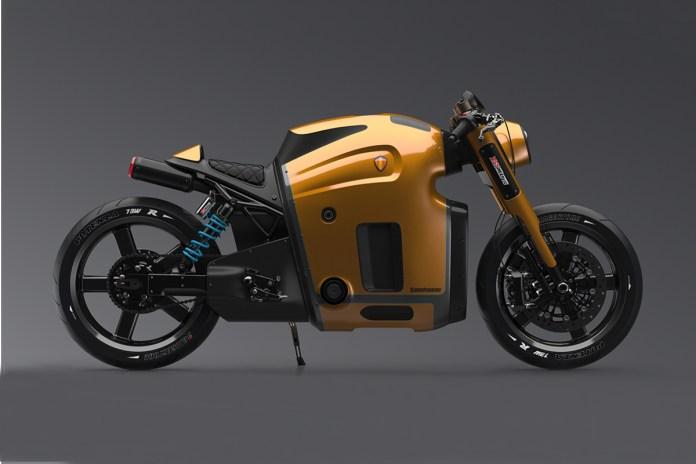 Maksim Burov がデザインしたケーニグセグ社製バイクのコンセプトイメージ