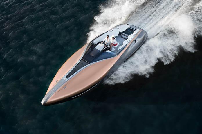 LEXUS Sports Yacht Concept を世界初披露