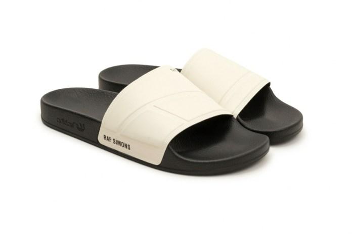 Raf Simons x adidas より ラバーサンダル Bunny Adilette が発売