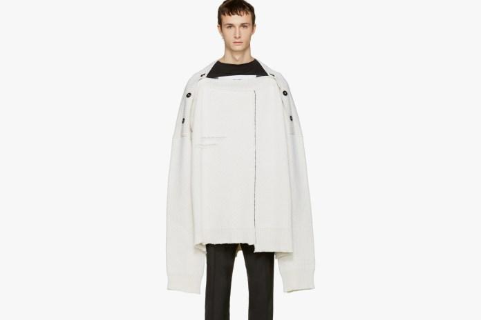 他と一線を画す Raf Simons のイタリア製ウール オーバーサイズ セーター