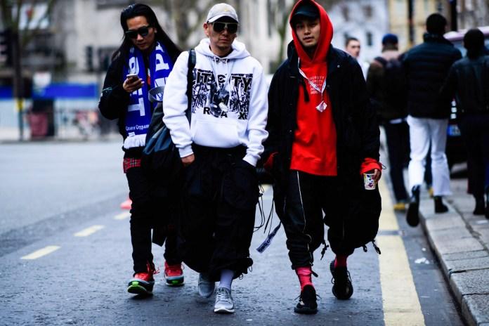 Streetsnaps: London Fashion Week Men's - Day 1