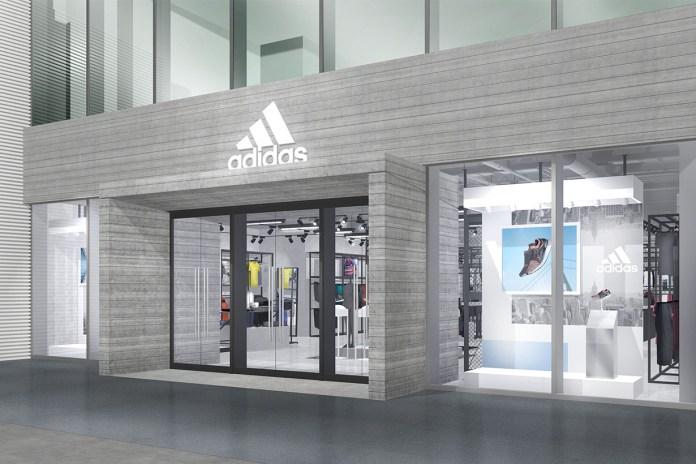 adidas の新たな店舗『アディダス ブランドコアストア 原宿』がオープン