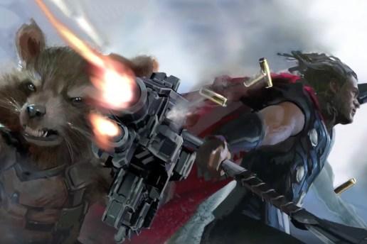 映画『Avengers: Infinity War』待望のファーストルックが到着