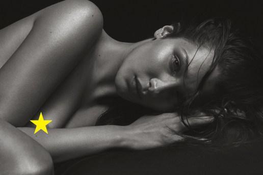 人気モデルのベラ・ハディッドがヌード姿を披露