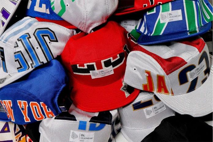 """NBAジャージで作られた5パネルキャップ """"My Allstar Collection"""""""