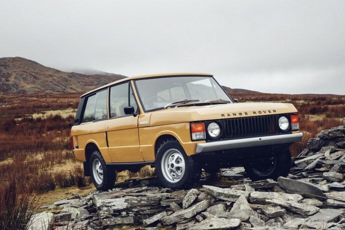 Land Rover が初代レンジローバーを復刻