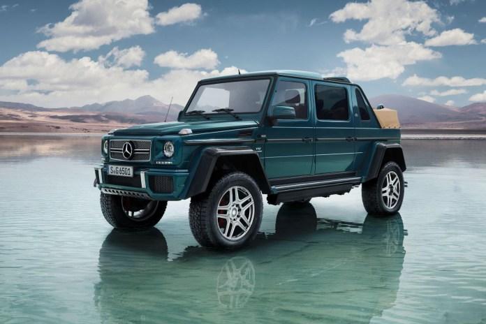 Mercedes-Maybach よりブランド初となるSUVモデル G650 Landaulet が登場