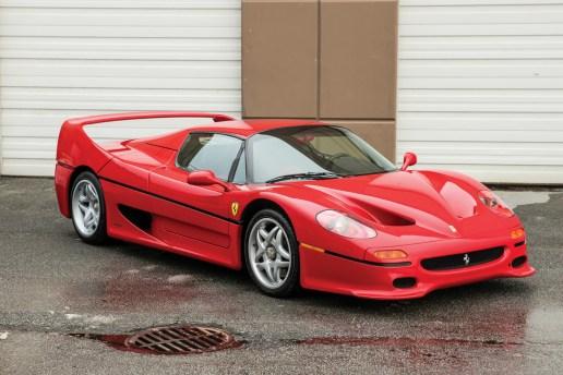 マイク・タイソンが所持していた「Ferrari F50」がオークションに出品される