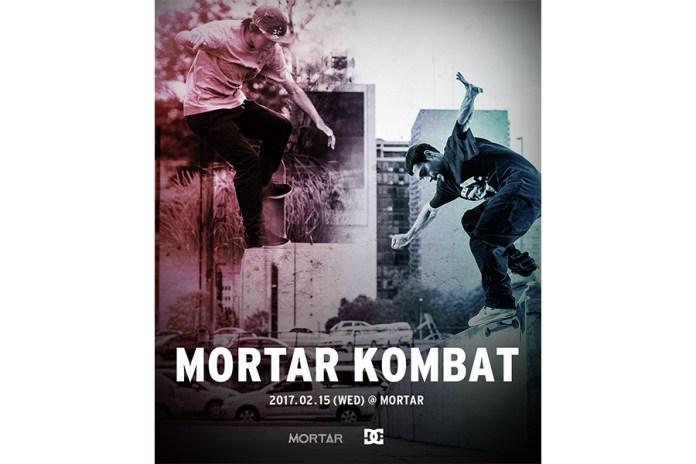 DC SHOES が主催するスケートコンテスト MORTAR KOMBAT