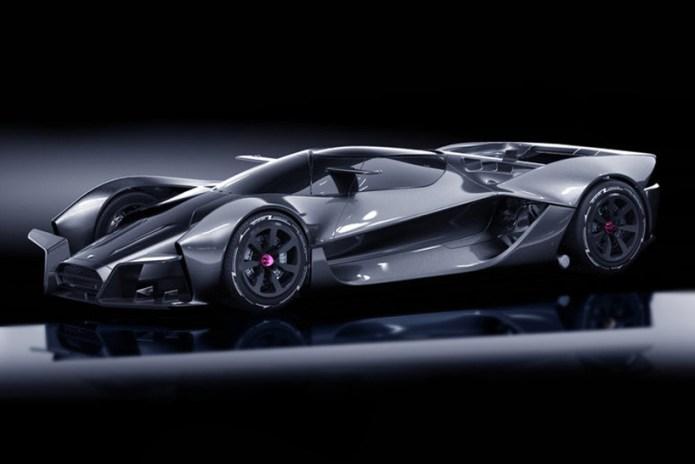 デザイン・スペックともにモンスター級な電動スーパーカー Dendrobium