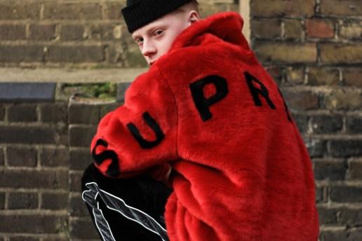 Supreme 2017年春夏コレクションのロンドンリリースの様子をキャッチ
