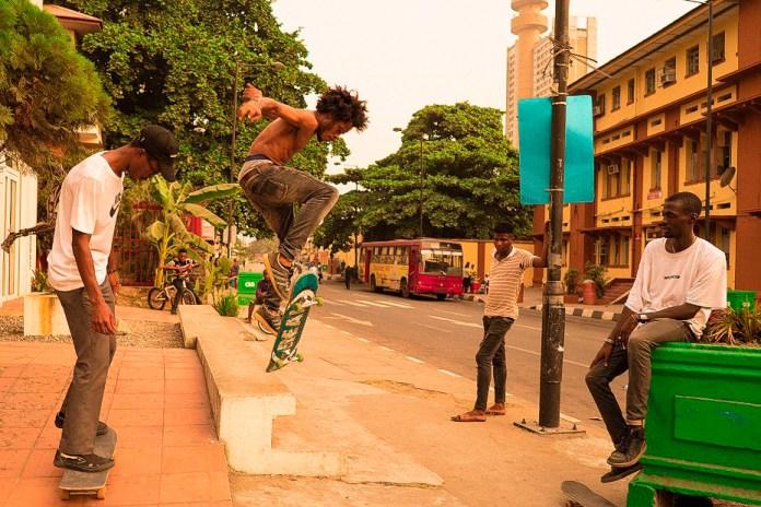 ナイジェリア・ラゴスに初めて誕生したスケートクルーWAFFLESNCREAM