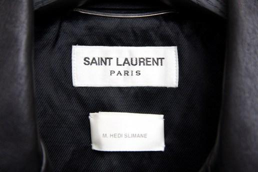 エディ・スリマンが愛用していた Saint Laurent のレザージャケットが Grailed に出品される