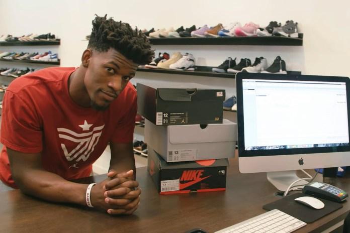 """ジミー・バトラーが """"Sneaker Shopping"""" の最新エピソードで Jordan Brand への忠誠を誓う"""