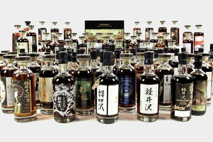 """世界で最も希少価値の高いウイスキー""""軽井沢""""約300本がオークションに"""