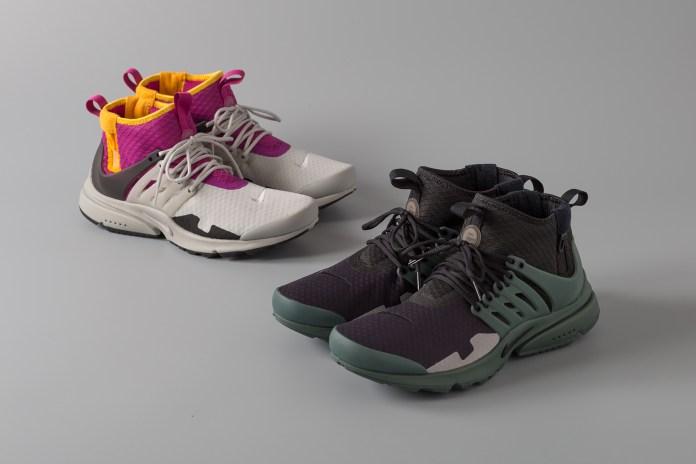 Nike より ACRONYM とのコラボモデルにも似た Air Presto を2型が登場