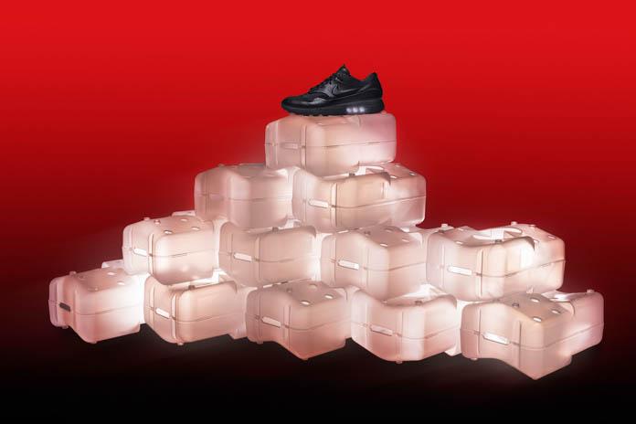 Nike が不要になった飲料ケースをリサイクルしてシューズボックスを製作
