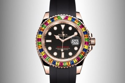 Rolex が色鮮やかな宝石でその身を包んだ新 Yacht-Master 40 を公開
