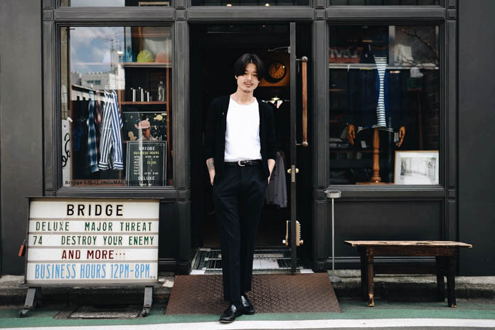 Streetsnaps: Tatsunori Arai of Bridge