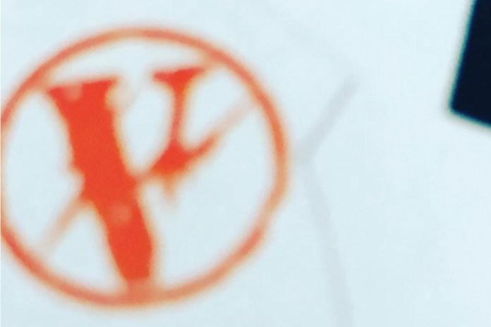 藤原ヒロシが Instagram で VLONE x fragment design のコラボロゴを公開?