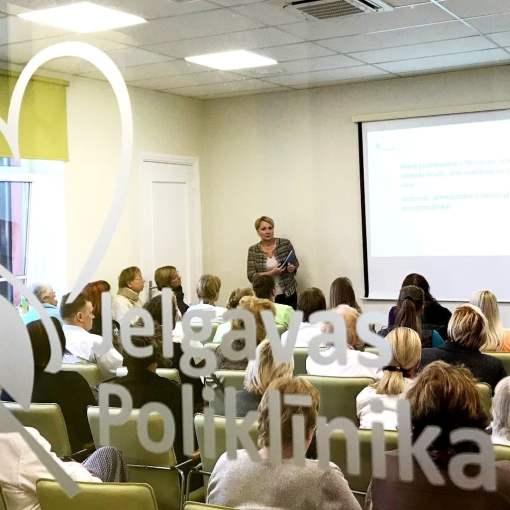 Kardioloģe Marina Kovaļova Jelgavas poliklīnikas Akadēmija